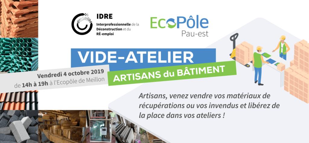 Vide-Atelier des Artisans à l'Ecopole de Meillon 04-Oct-2019