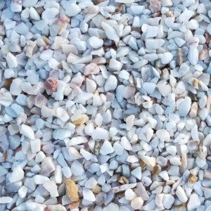 gravillons de marbre 15/25 en sacs de 25kg